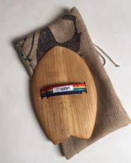 Colibri Surf Handboard Handplane 12 Strap Rainbow 2