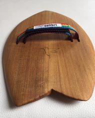 Colibri Surf Handboard Handplane 12 Strap Rainbow 7