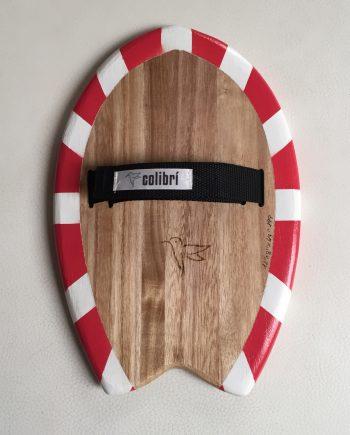 Handboard Handplane for Bodysurf madera de Paulownia Hecho a mano