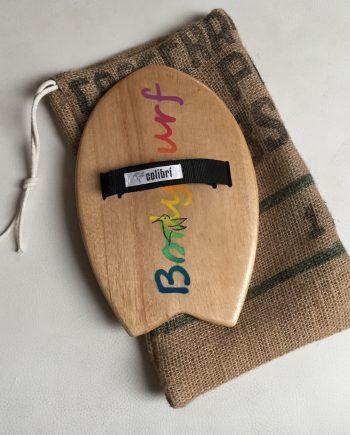 Handboard Handplane, Bodysurf, Madera de Paulownia, hecho a mano, Made in Spain